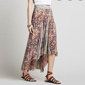 Free People High Low Boho Skirt